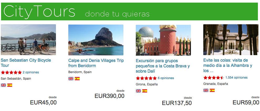 City Tours en Espaa